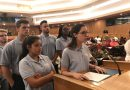 MDC Students speaking to Miami-Dade County Commission.