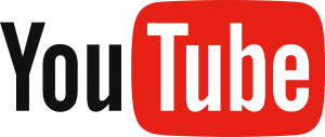 Logo of YouTube.