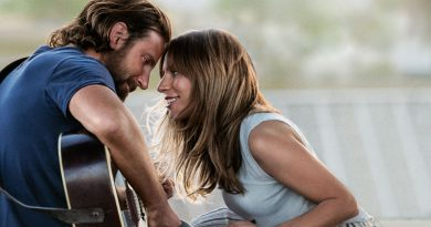Scene from the movie A Star Is Born.