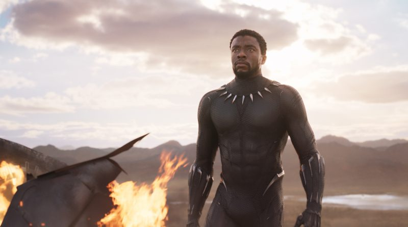 Scene from the movie Black Panther.