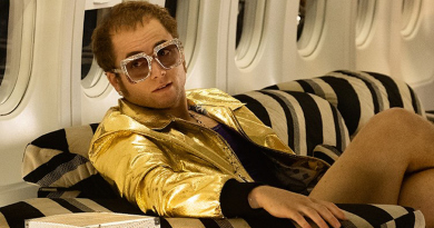 Scene from the movie Rocketman, one of several biopics.