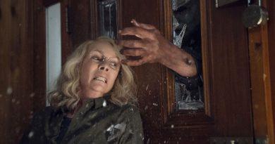 Scene from the movie Halloween.