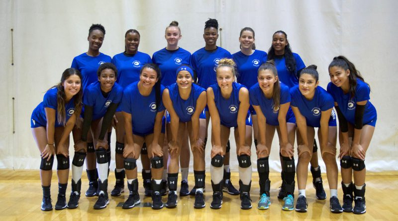 MDC's Lady Sharks volleyball team.