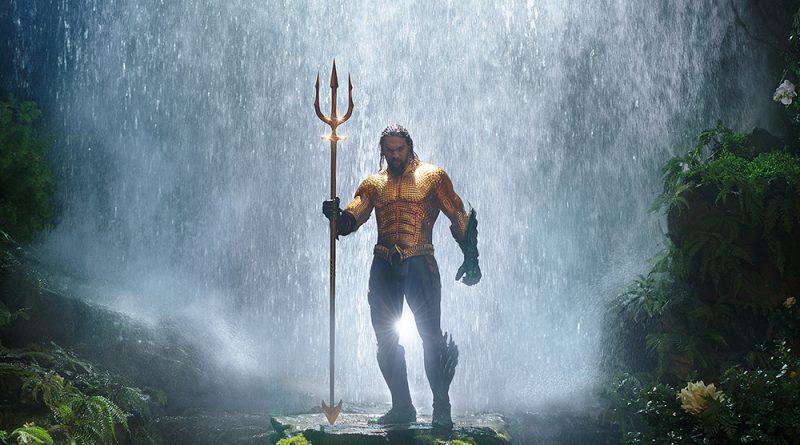 Scene from the movie Aquaman.