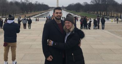 Amanda Shoopman and Jack Onoforio in Washingtion, D.C.