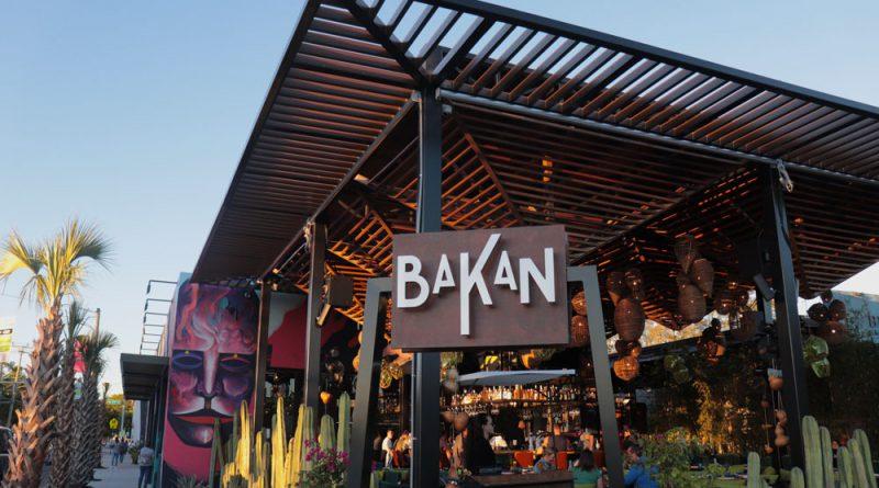 Exterior of the restaurant Bakan.
