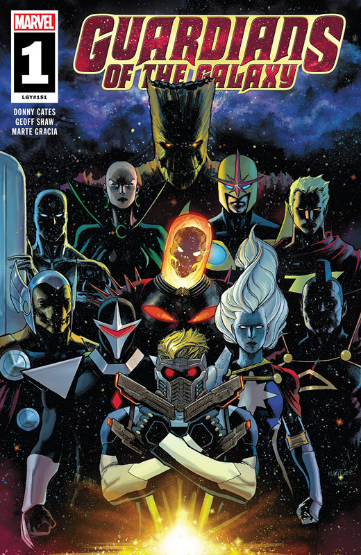 Cover art for the comic book.