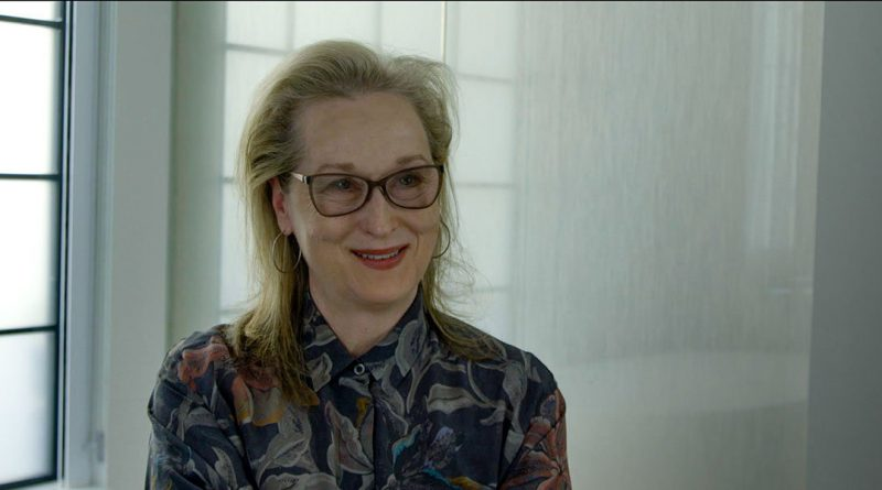 A scene featuring Meryl Streep in the movie This Changes Everything.