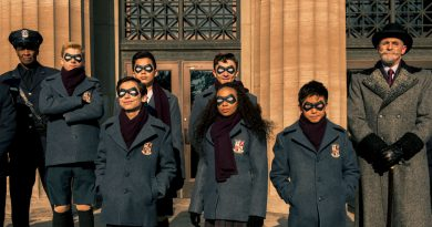 The cast from The Umbrella Academy.