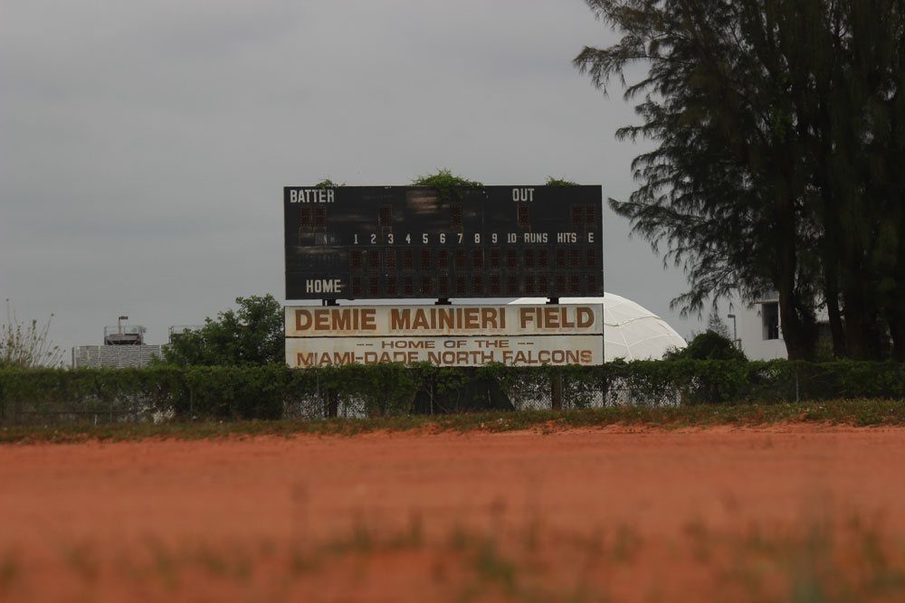 Photo of the field at North Campus.