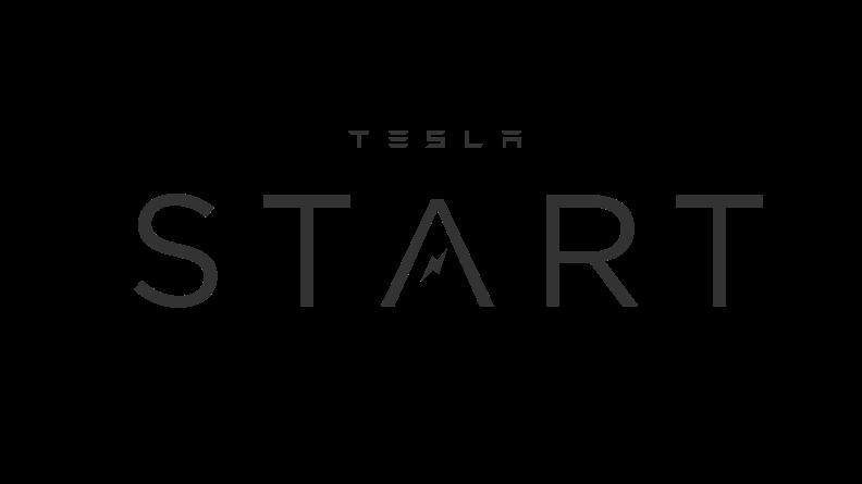 Tesla Start logo.