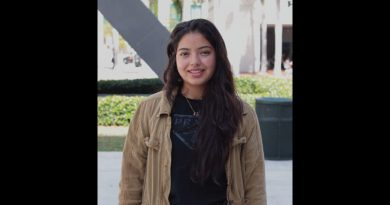 Photo of Fiorenza Herrera, who was named the Newman Civic Fellow for MDC.