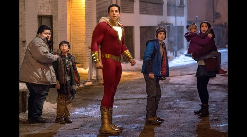 Scene from the movie Shazam!