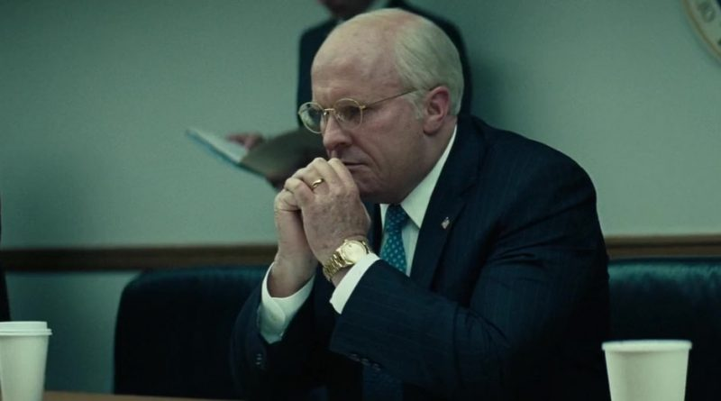 Scene from the movie Vice.