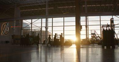 Scene from the movie Avengers: Endgame.