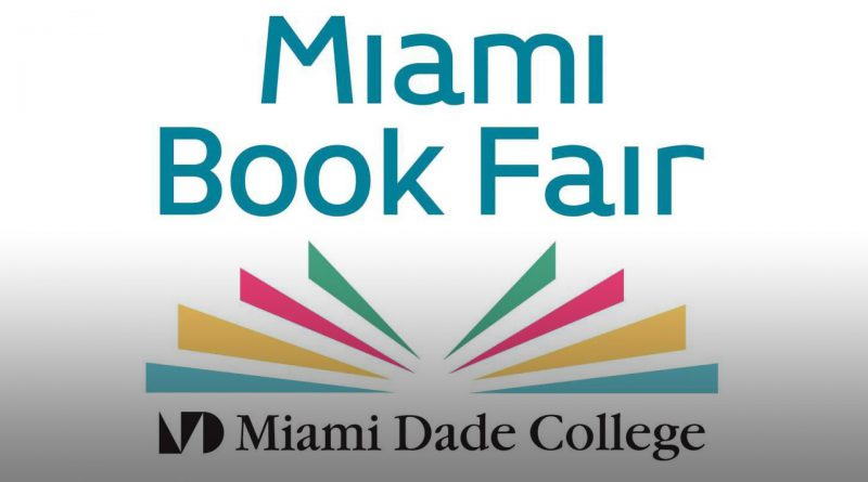 Miami Book Fair logo.