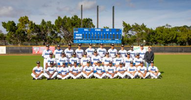 MDC's Sharks baseball team.