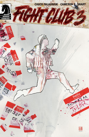 Artwork for comic book cover of Fight Club 3.