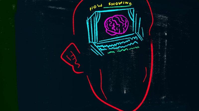 Digital mental illness illustration by Alexander Ontiveros.