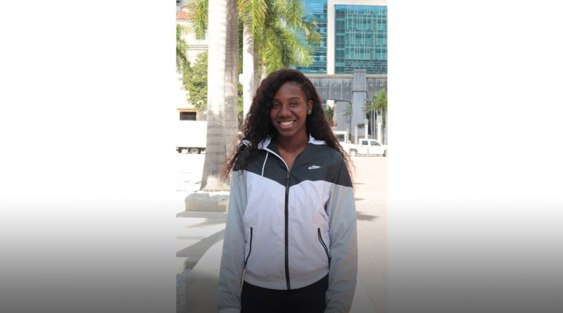 Lauryn Louis is one of three high school students to win a Heat scholarship.