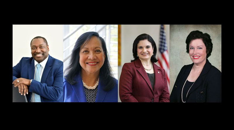 The four finalists in the presidential search.