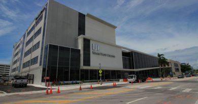 New building at Medical Campus.