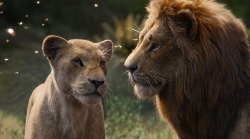 Scene from The Lion King.