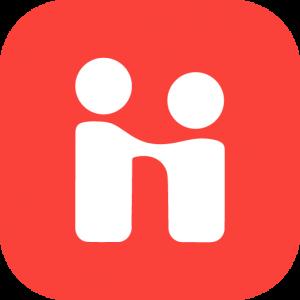 Handshake logo.