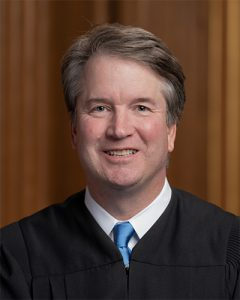 Photo of Brett Kavanaugh.