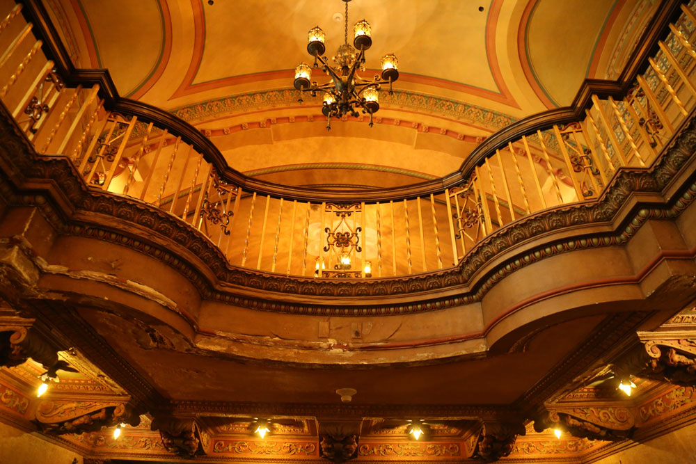Interior of Olympia Theater.