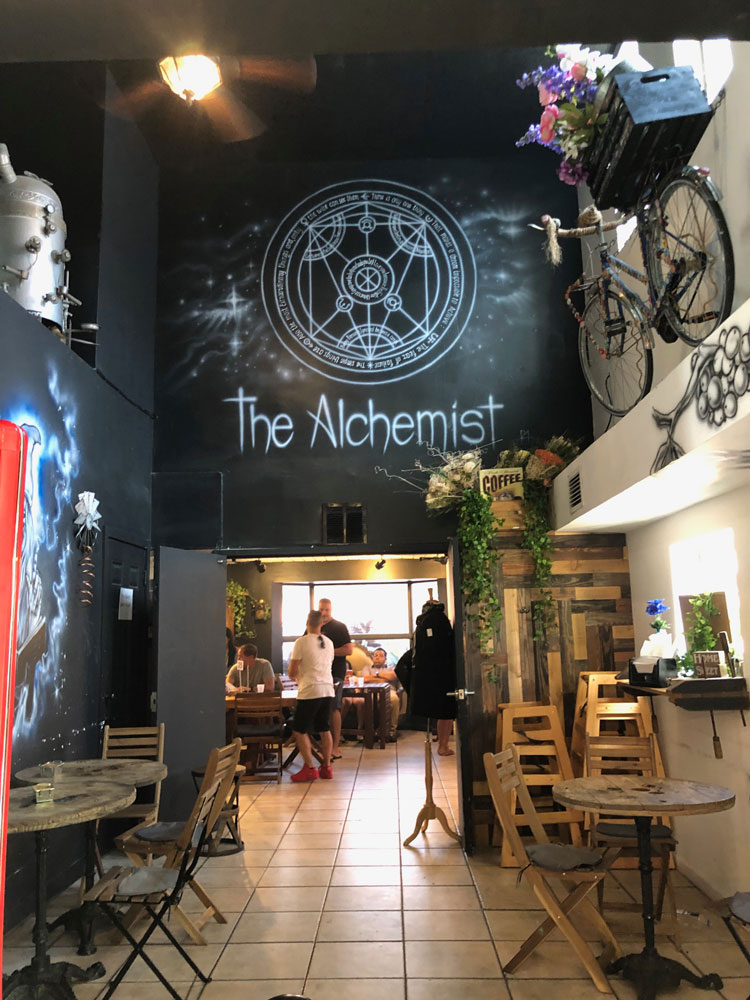 Inside The Alchemist.