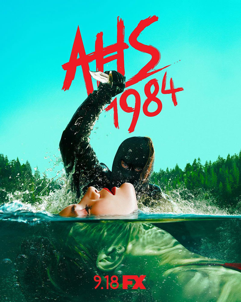 Poster for American Horror Story 1984.