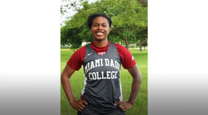 Daliyah Brown of the Lady Sharks.