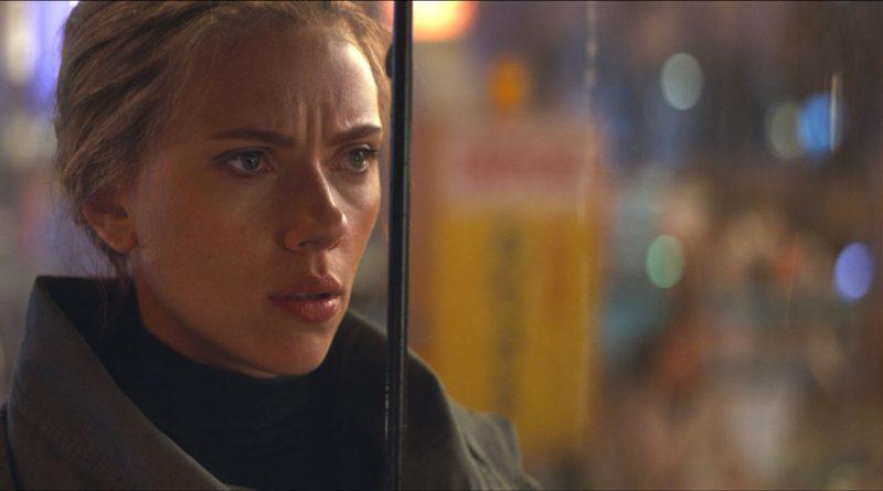 Scene of Scarlett Johansson.