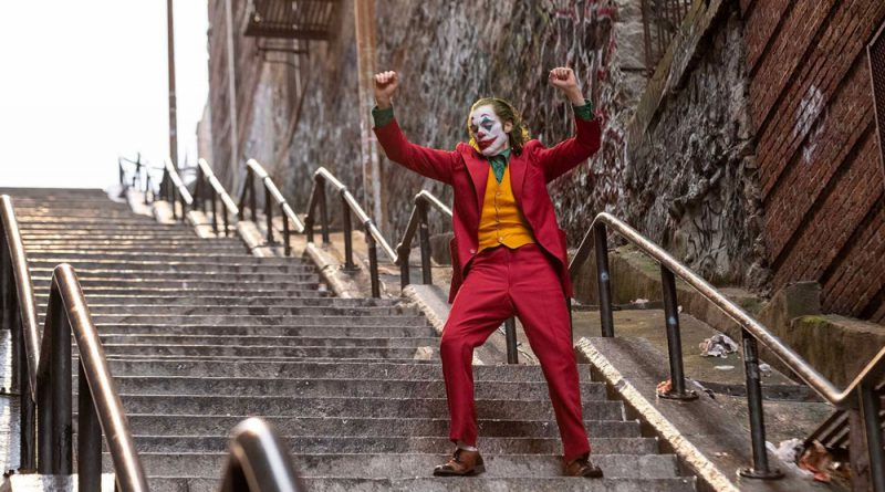 Scene from the movie Joker.