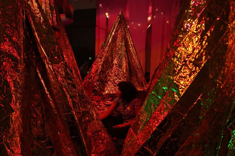 Art installation for Siesta.