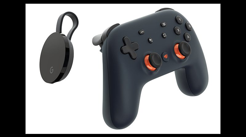 Game controller for Stadia.