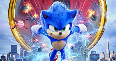 Movie poster of Sonic the Hedgehog.