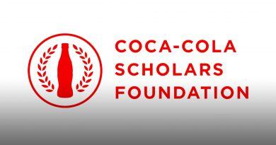 Coca-Cola scholarship logo.