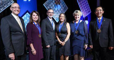 Endowed Teaching Chair recipients.
