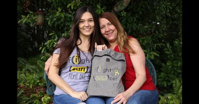 Bianca Maderal and her mother Grace.