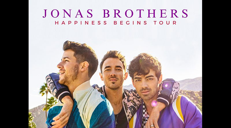 Promotional image for The Jonas Brothers.