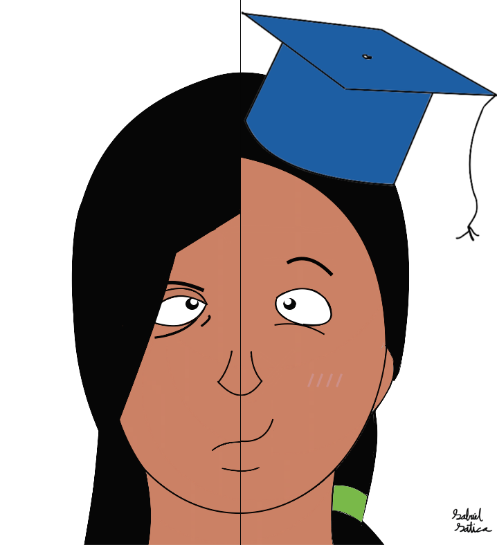 Illustration by Gabriel Gatica, showing success at MDC.