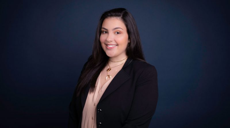Samantha Hernandez is the student voice for the presidential search.