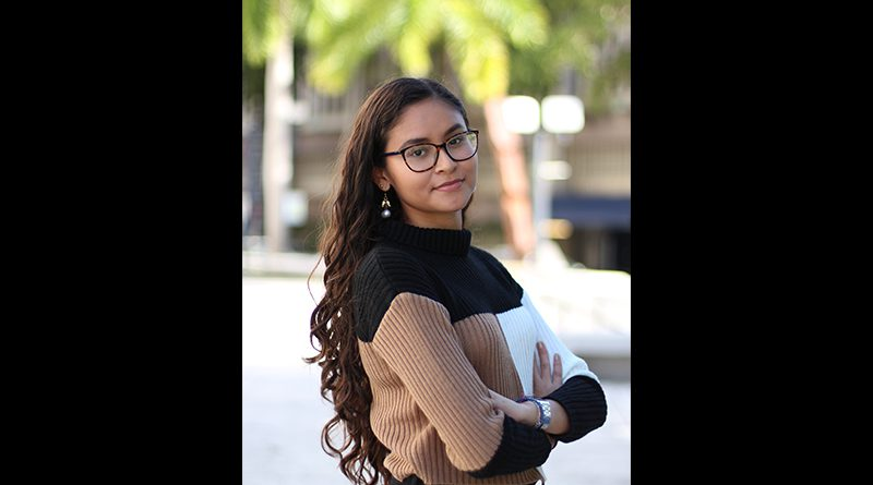 Photo of Kency Herrera, one of many undocumented students.