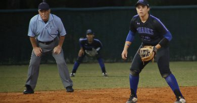 Nicole Gonzalez has shown to be a leader for lady sharks.