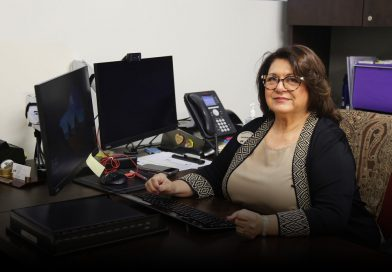 Ana DeMahy in her office.