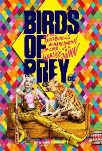 Birds of Prey movie poster.