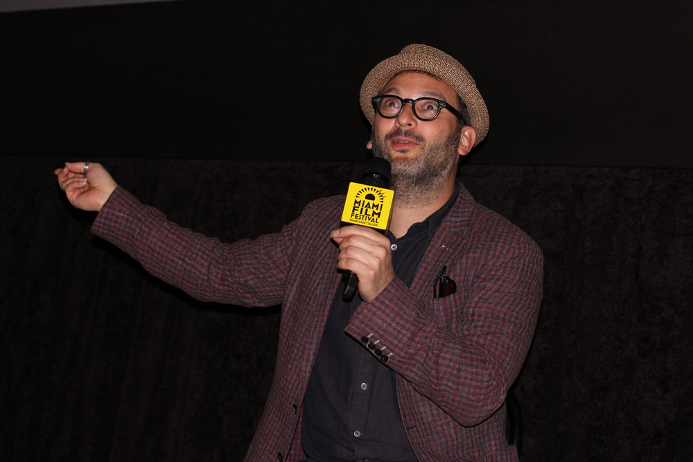 Josh Fox presenting.