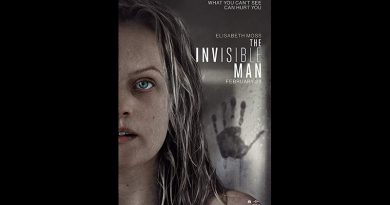 The Invisible Man movie poster.